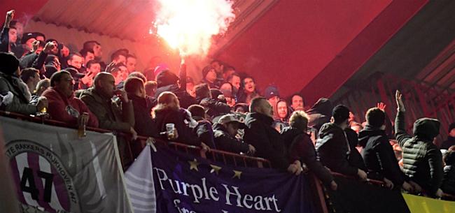 Foto: Anderlecht-fans eisen nu ook gesprek met spelersgroep