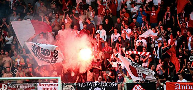 Foto: Antwerp-fans ondernemen actie: