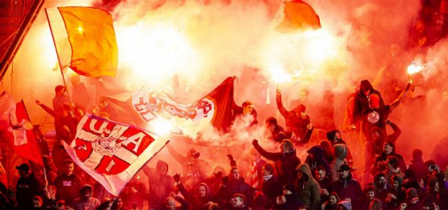 Foto: Antwerp-fans dreigen voor problemen te zorgen: