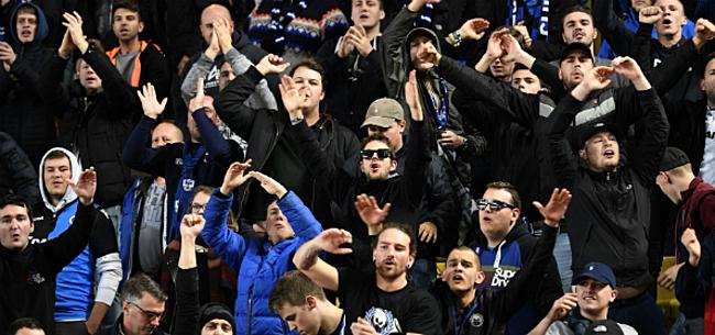 Foto: Club Brugge reageert op wangedrag van fans in Madrid