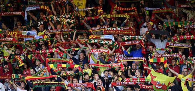 Foto: Fans KVO geven duidelijk signaal aan Verheyen en Broos