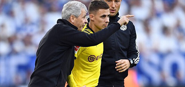Foto: Hazard legt Casteels over de knie, Gladbach moet afhaken bovenin