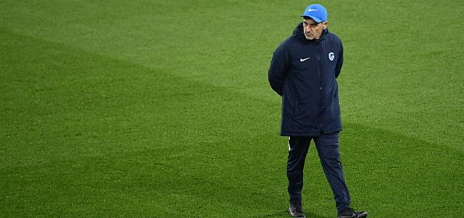 Foto: 'Mazzu past basisploeg aan voor clash op Anfield'