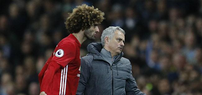 Foto: 'Mourinho contacteert Fellaini voor nieuwe samenwerking'