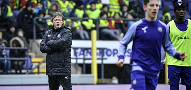 Foto: Youngster zorgt voor lichtpuntje bij verliezend Anderlecht