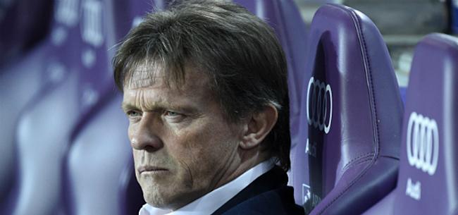 Foto: Vercauteren laat zich uit over zijn toekomst bij Anderlecht