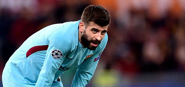 Foto: 'Bom bij Barça barst na ongepast tripje Piqué'