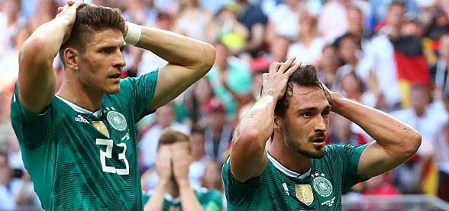Foto: Duitse pers lyncht Mannschaft: