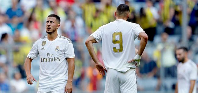 Foto: 'Ramos spelt Hazard flink de les en waarschuwt Zidane'