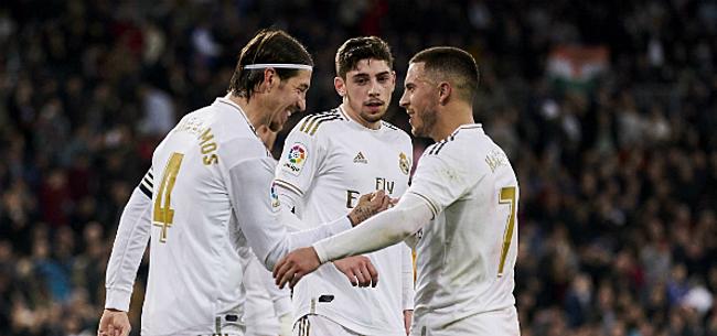 Foto: Topsituatie voor Hazard bij Real: