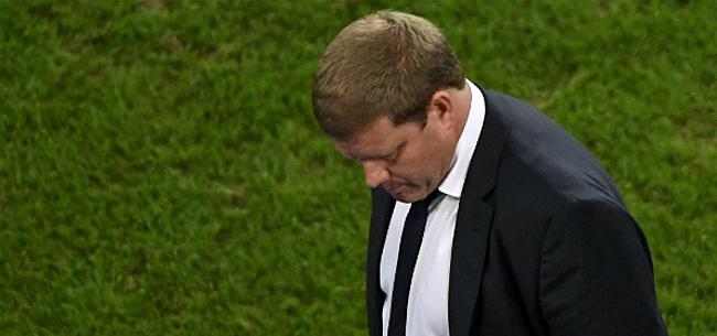 Foto: Vanhaezebrouck stelt Club gerust: