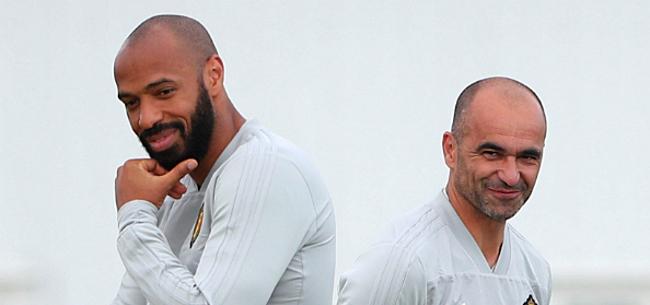 Foto: Verrassing tegen Frankrijk? Henry neemt wisselspeler apart op training