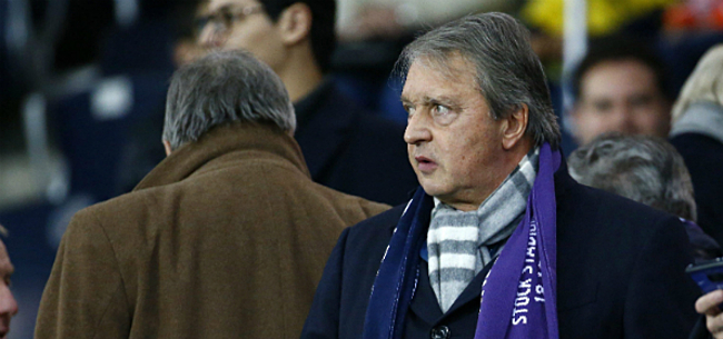 Foto: 'Anderlecht wapent zich tegen Van Holsbeeck'
