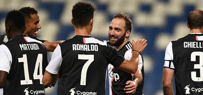 Foto: Juve blijft op titelkoers ondanks puntenverlies in spektakelstuk