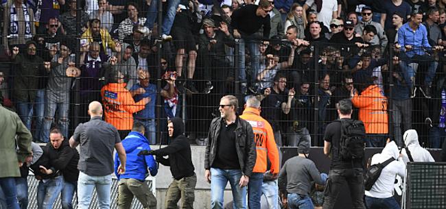 Foto: De Wever grijpt in na relletjes tussen Antwerp en Beerschot