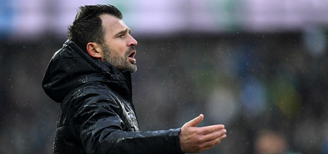 Foto: Leko reageert na nieuw puntenverlies Club Brugge
