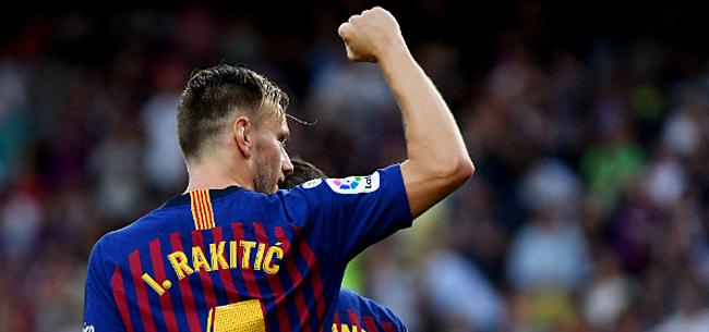 Foto: 'Rakitic incasseert dubbele klap bij FC Barcelona'