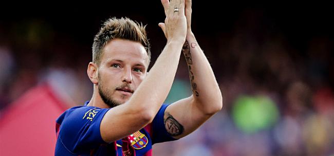 Foto: 'Koppige Rakitic zet Barcelona met rug tegen de muur'