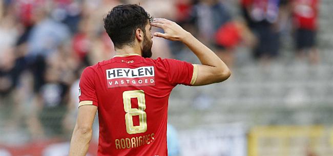 Foto: Rodrigues bezorgt Antwerp flinke transferboost