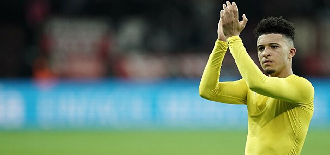 Foto: 'Manchester United nadert akkoord over Sancho'