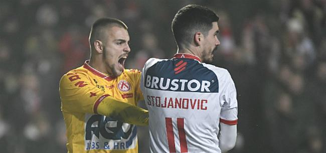 Foto: 'KV Kortrijk is Moeskroen te snel af voor doelman'