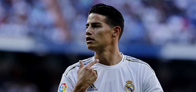 Foto: 'Vier clubs willen James Rodriguez weghalen bij Real Madrid'
