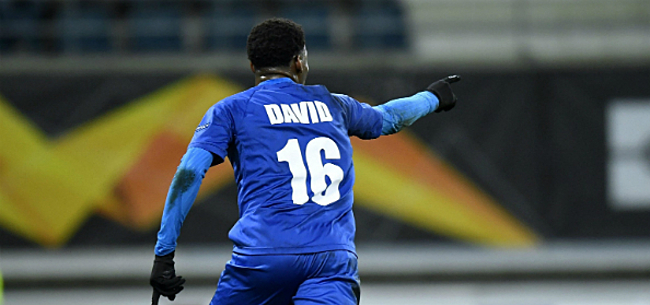 Foto: AA Gent lijkt 'nieuwe David' beet te hebben:
