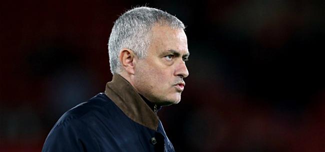 Foto: Mourinho zorgt meteen voor relletje bij Spurs