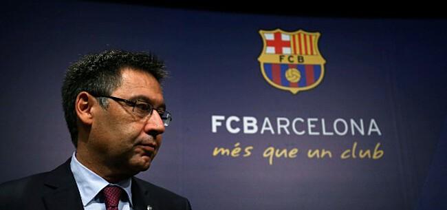 Foto: 'Putsch bij Barça ingezet: motie van wantrouwen tegen Bartomeu ingediend'