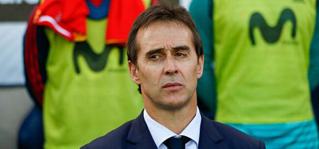 Foto: OFFICIEEL: Spanje zet vlak voor het WK zijn bondscoach op straat