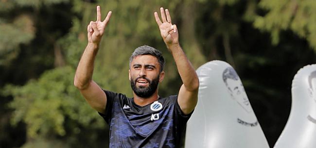 Foto: Rezaei geeft oorzaak voor falen bij Club Brugge