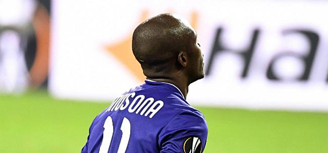 Foto: Musona krijgt steun na mindere prestaties: