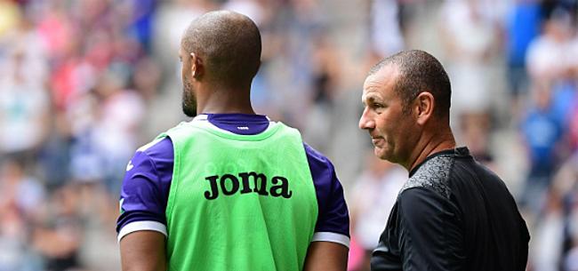 Foto: Kompany spreekt zich uit over basiself Anderlecht