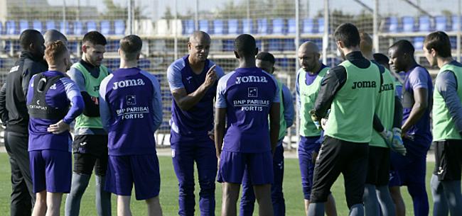 Foto: 'Anderlecht verwelkomt woensdag drie extra spelers'