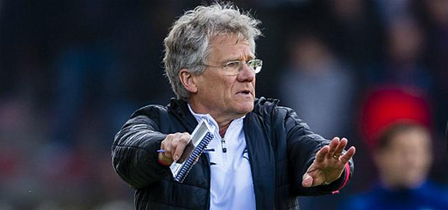 Foto: Bölöni blijft ook volgend seizoen aan het roer bij Antwerp