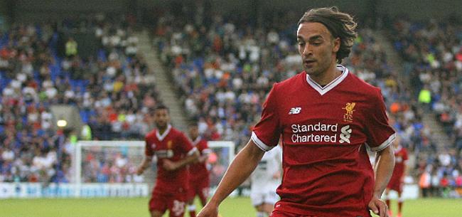 Foto: Markovic maakt zich niet populair bij Liverpool-fans: