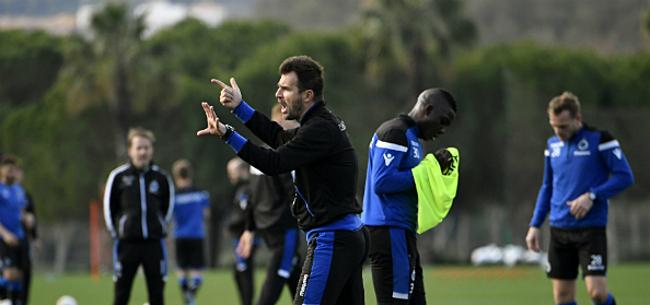 Foto: Club Brugge maakt plannetje met Diatta bekend