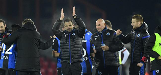 Foto: Mannaert duidt grootste titelgevaar Club Brugge aan