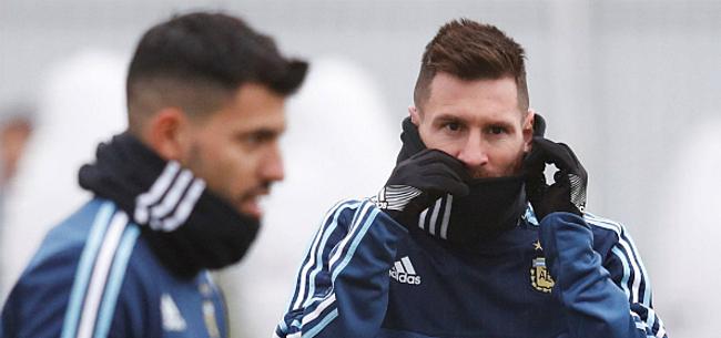 Foto: Messi geeft duidelijke hint over toekomst bij Argentinië