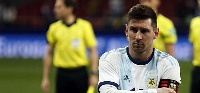 Foto: Messi en Argentinië moeten in Copa America achtervolgen op ... Qatar