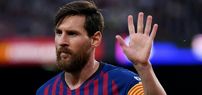 Foto: FC Barcelona nu al in de weer met vertrek Messi