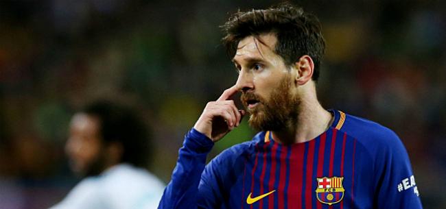 Foto: 'Messi is getalm beu en zet bestuur Barcelona onder druk'