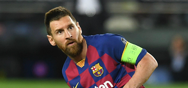 Foto: 'Messi weigert in te gaan op opvallende contractverlenging van Barcelona'