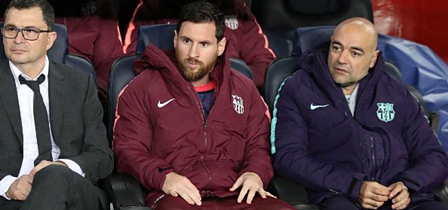 Foto: Barcelona kan ondanks terugkeer Messi niet winnen in Bilbao