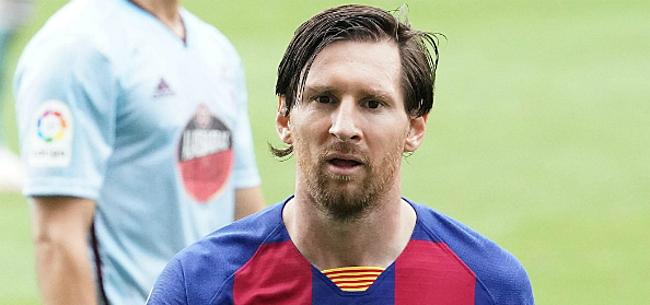 Foto: 'Barça maakt zich zorgen over oververmoeide Messi'