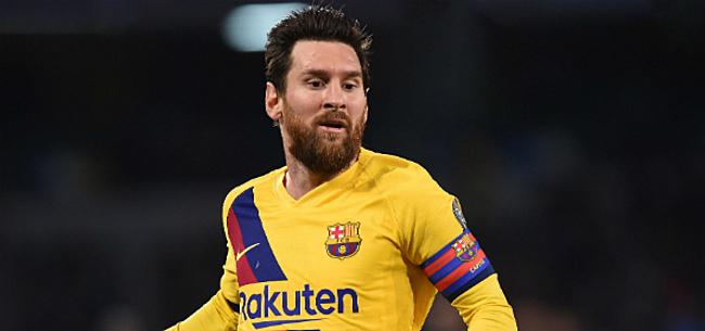 Foto: 'Uitspraken Messi zetten coup in gang bij Barcelona'