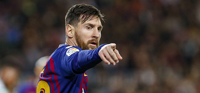Foto: FC Barcelona komt met belangrijk toekomstnieuws over Messi