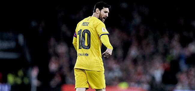Foto: Messi maakt toekomstplannen duidelijk
