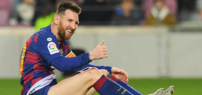 Foto: 'Messi laat zich in Barcelona negatief uit over De Ligt'