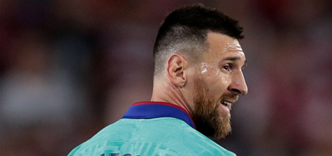 Foto: Messi verrast en trekt streep door droomplan Barcelona